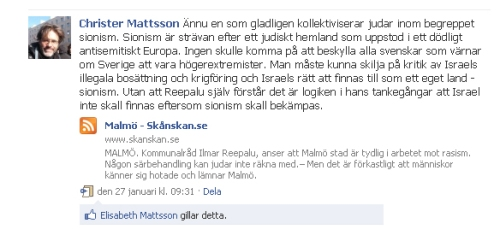 Christer Mattsson på facebook