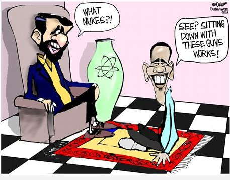Ahmadinejad & Obama